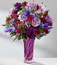 Spring Garden Bouquet Vase Arrangement