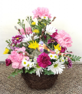 Spring Garden Fantasy  Fresh Floral Arrangement