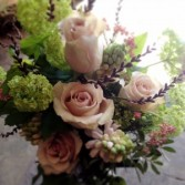 Spring Garden Vase Arrangement