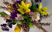 Spring Garden Vibes vase arrangement