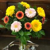 Spring Gerberas Vase Design
