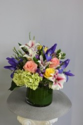 Spring Glory Cylinder Arrangement
