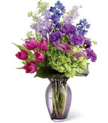 Spring Goddess Vase