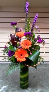 Spring Happiness Vase arrangement