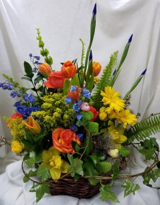 Spring has sprung basket in coral springs fl hearts flowers of spring has sprung basket in coral springs fl hearts flowers of coral springs mightylinksfo