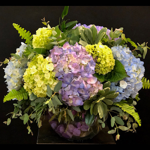 Spring Haze Bubble Bowl in Chesterfield, MO | ZENGEL FLOWERS AND GIFTS