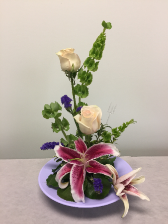 Spring Hi-Style Fresh Arrangement