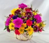 Spring in a Basket Basket Arrangement