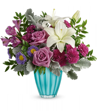 Spring In Your Step Bouquet All-Around Floral Arrangement