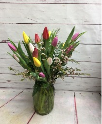Lovley Tulip Arrangement