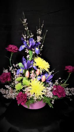 Spring is just around the corner mixed spring arrangement