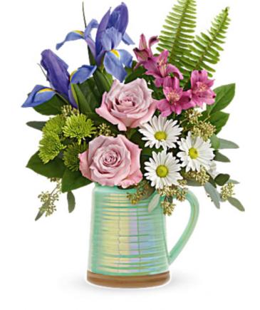 Spring is Served Vase
