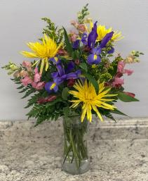 Spring Joy Vase of Flowers