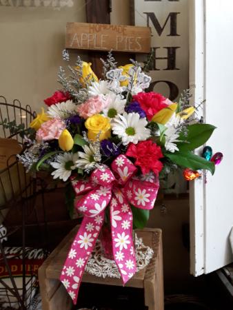 Spring love Fresh vase