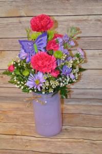 Spring Mason Jar Everyday, Thinking of you, Birthday