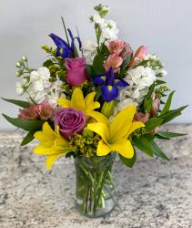 Spring Meadows  Fresh Arrangement