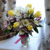 Spring Melody vase arrangement
