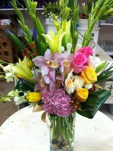 Spring mix in visalia ca peter perkens flowers bakersfield spring mix mightylinksfo