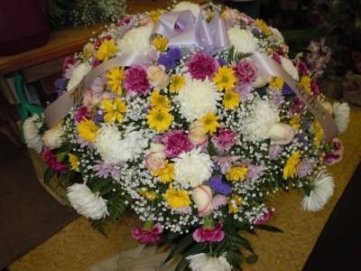 Spring mix c26 casket spray in south bend in patricia ann florist spring mix c26 casket spray mightylinksfo