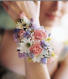 Spring Mix Corsage