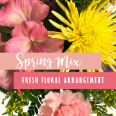 Spring Mix Fresh Floral Arrangement