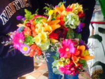 spring mix lokks like bridal bouquets