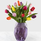 Spring Morning Tulip Bouquet Floral Arrangement