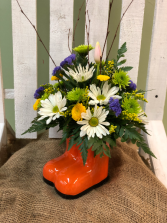 SPRING MUD BOOTS  Arrangement