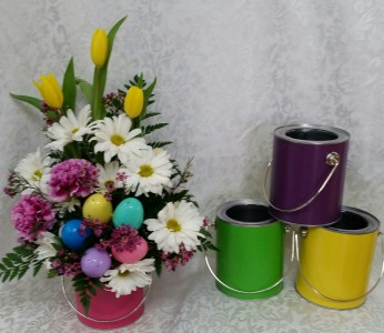 Easter Paint Can