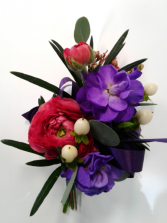 Spring Ranunculus  Prom Corsage