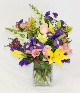 Spring Rectangle Fresh Arrangement