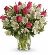 Spring Romance Bouquet All-around arrangement