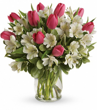 Spring Romance Bouquet All-around arrangement