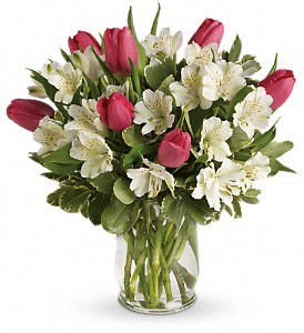 Spring Romance Bouquet All the way around