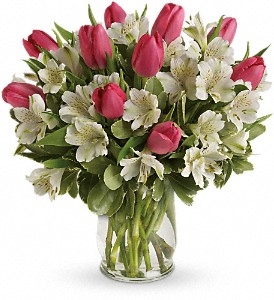 Spring Romance Bouquet by Teleflora  in Valley City, OH | HILL HAVEN FLORIST & GREENHOUSE