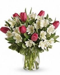Spring Romance vase