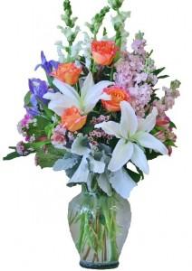 SPRING SENSATION  Arrangement of Flowers
