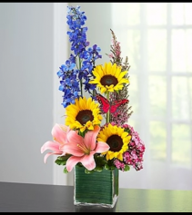 Spring Sensation™ Cube Arrangement
