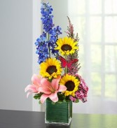 Spring Sensation Enchanted Florists Vase Arrangement