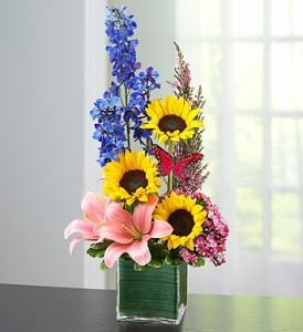 Spring Sensation Enchanted Florists Vase Arrangement