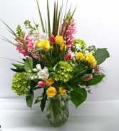 Spring Sensation Vase Arrangement