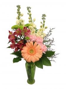 Spring serenade vase arrangement in seguin tx dietz flower shop spring serenade vase arrangement mightylinksfo