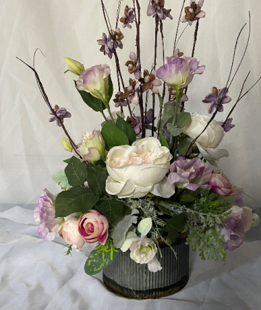 Spring Silk arrangement Mothers day