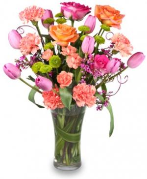 SPRING SOPHISTICATION Flower Arrangement in Richland, WA | ARLENE'S FLOWERS AND GIFTS