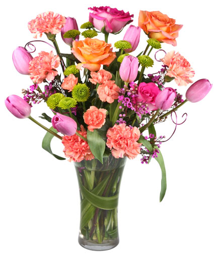 Spring sophistication flower arrangement in bonita springs fl a spring sophistication flower arrangement mightylinksfo