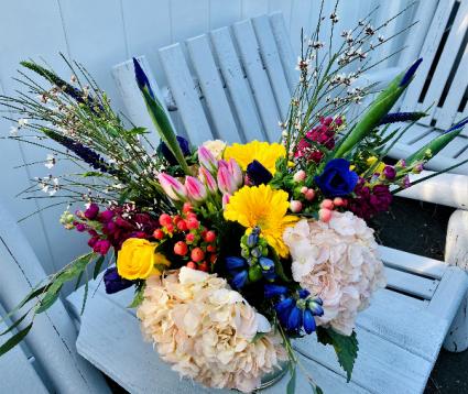 Spring Splendor Vase Arrangement