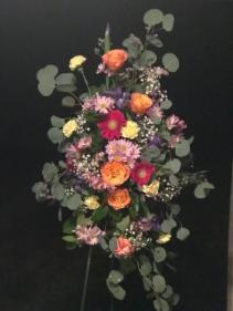 Spring Spray  Funeral