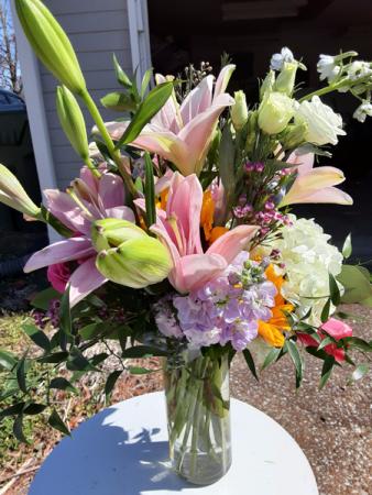 spring, spring give me spring vase flower