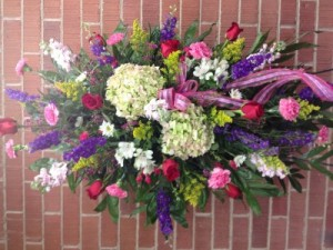 Spring standing sprays  in Cullman, AL | Mary's Flower Market