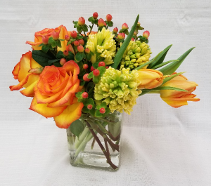 Spring Sunburst Mixed vase in Bolivar, MO | The Flower Patch...& More